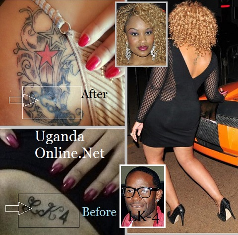 Zari gets the LK-4 tattoo removed