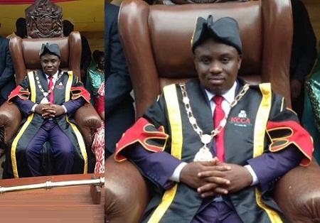 Lord Mayor Erias Lukwago after swearing in