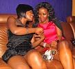 Priska and Desire at Club Amnesia