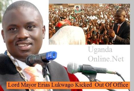 Lord Mayor Erias Lukwago kicked out of ofiice