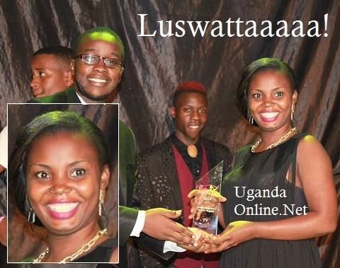 Luswata's big smile