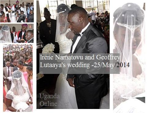 Ronald Mugula looks on as Irene adopts Lutaaya's name officially