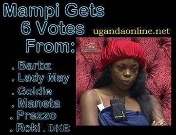 Mampi tops the first Upville nominations with six votes