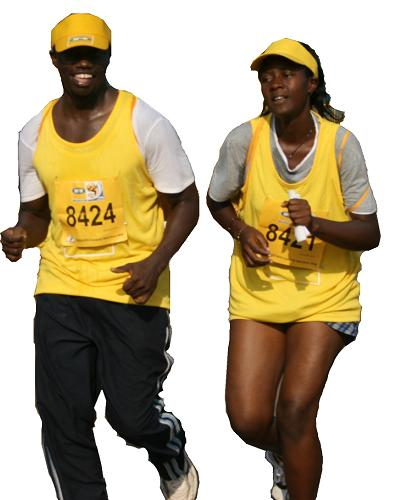 No.8424 and 8427 Kampala Marathon