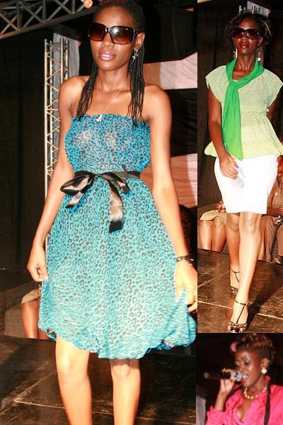Fashion Show at Club Silk on April 8, 2010