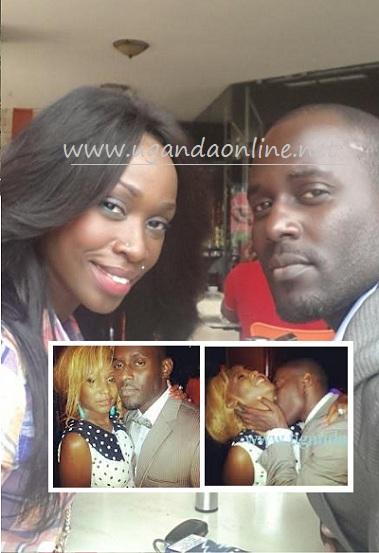 Maurice Kirya with Judith Heard
