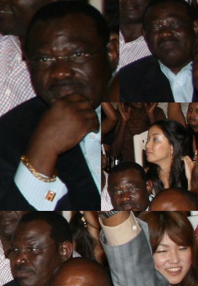 Kampala Mayor at Bobi Wine's Album Launch at Hotel Africana