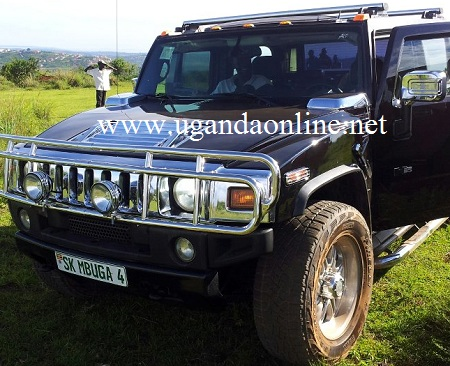 One of Mbuga's Hummer's