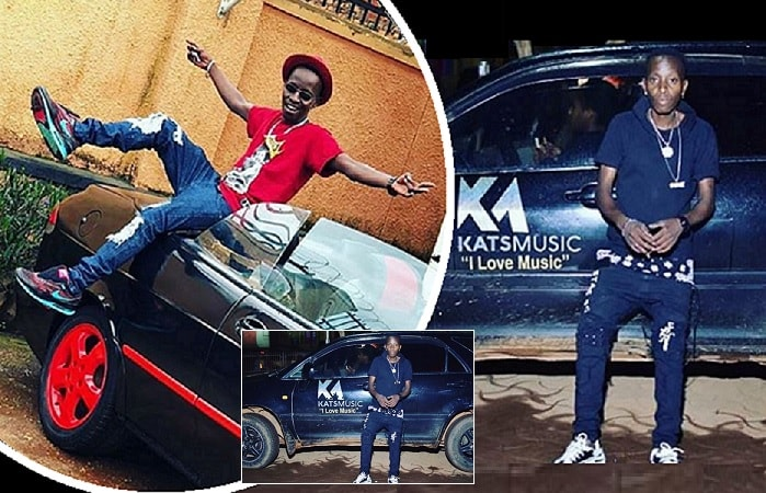 MC Kats on his convertible that he pulled out after his Harrier was impounded