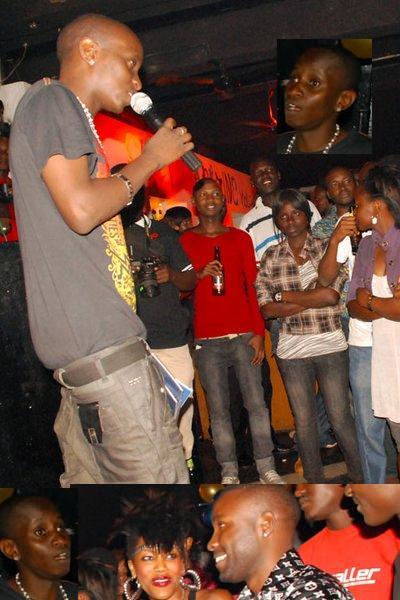 MC Kats at Club Rouge