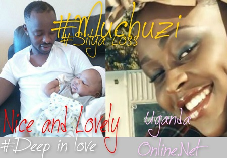 Kenzo bonds with his daughter, Aamaal Musuuza