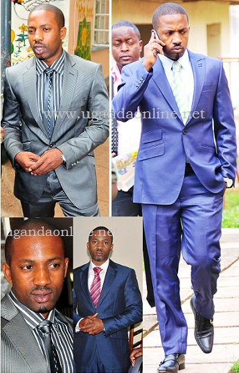 At least he invested in suits...!