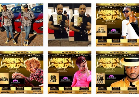 Artists to perform at the Money Gold Party