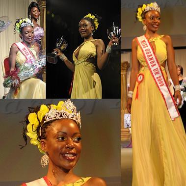 Maria Namiro is the new Miss Uganda UK 2009