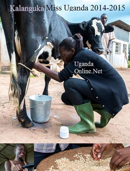 Leah Kalanguka in action