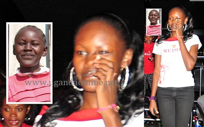 Phiona Bizzu picks her nose at a club