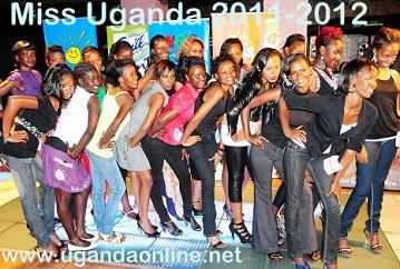Miss Uganda 2011-2012 babes