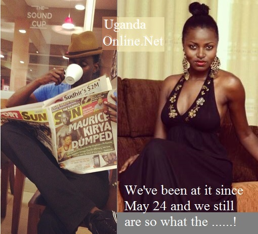 Maurice Kirya reads about how he was dumped