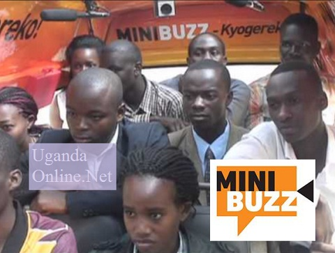 Passengers in the NTV Minibuzz