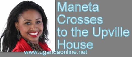 Maneta from Zimbabwe crosses to the Upville house as three are evicted