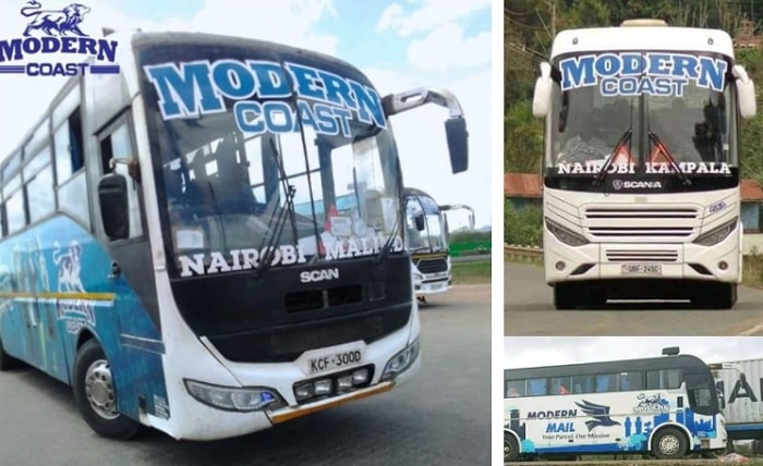 Modern Coast Buses to Malindi and Kampala