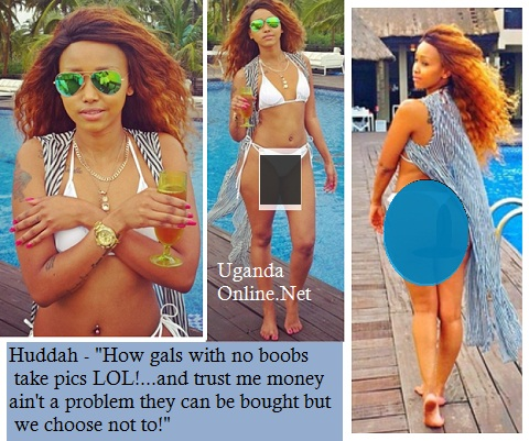 Huddah Monroe's message to Vera