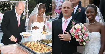 Maureen on her Wedding day