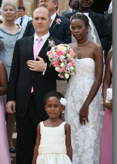 Maureen Exchanged Marriage vows with Garett Taylor at Rubaga Cathedral
