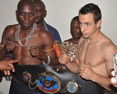 Ronald Mugula knocked out Nagy in the second round