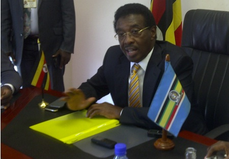 Minister of Information Maj. Gen. Jim Muhwezi