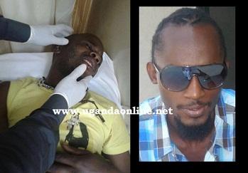 Lwasama at Kadix hospital and inset is Moze Radio
