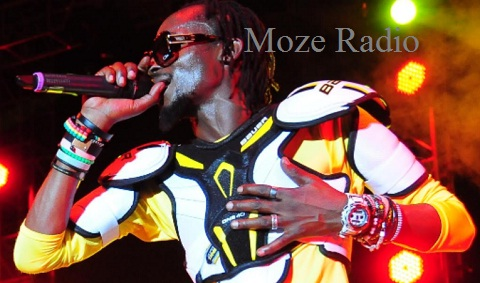Moze Radio during the Obudde album Launch