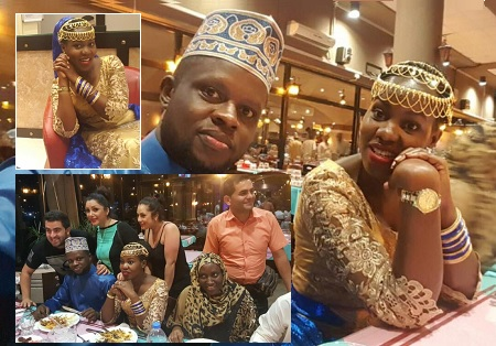 Photos: Faridah Nakazibwe and and hubby Dr. Omar Ssali in UAE