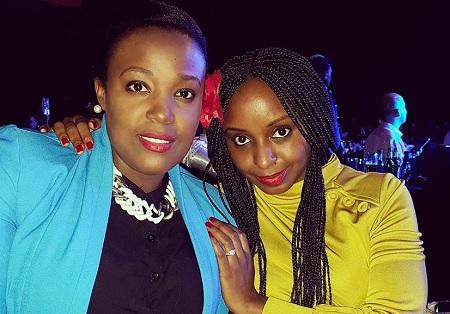 Guvnor PRO Natasha Kayondo and Pherrie Kim