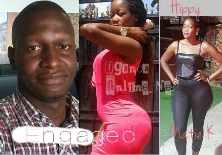 Joel Isabirye and Natie K got engaged on Valentine's day