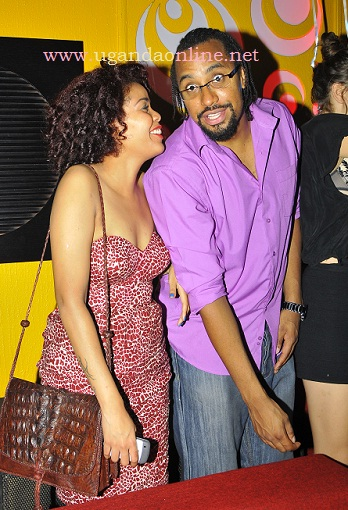 Top City rapper Navio with Sophie