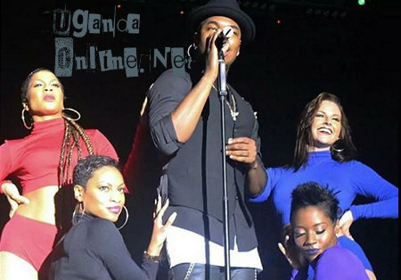 Ne-Yo and his four queen dancers