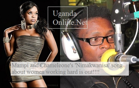 Zambia's Mampi and Chameleone have a song together