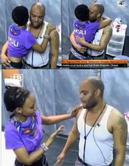 Michael Kisses Nkuli but she cleans that area