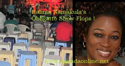 Veteran singer Halima Namakula's Ndimuzadde Concert was a flop