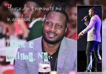 Bebe Cool has requested to be excluded from all local awards