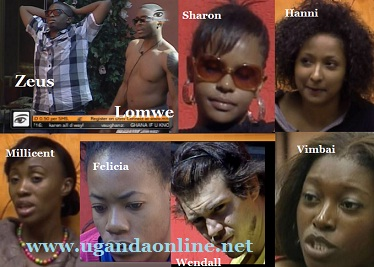 Zeus, Lomwe and Wendall are up against Millicent, Felicia, Vimbai and Hanni