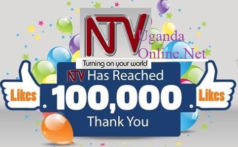 NTV Uganda facebook page clocks 100,000 likes