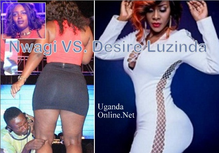 B.ooty battle between Winnie Nwagi and Desire Luzinda