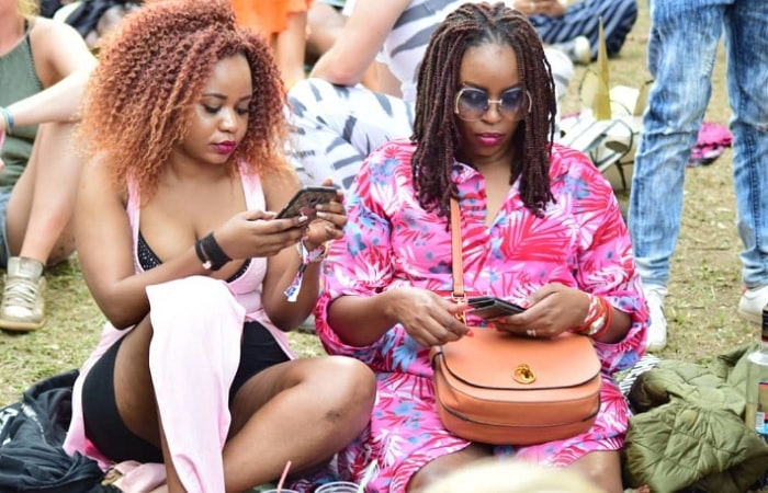 Babes at the Nyege Nyege festival in Jinja