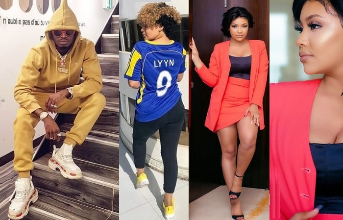 Official Lyyn does not rule out the possibility of dating Diamond Platnumz again