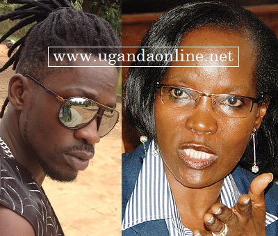 Bobi Wine says his latest single dubbed 'Jennifer' is not aimed at the Executive Director of KCCA.
