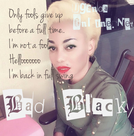 I'm back in full swing - Bad Black