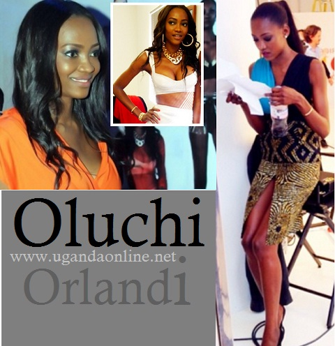 Oluchi Orlandi in town for Aamito's party