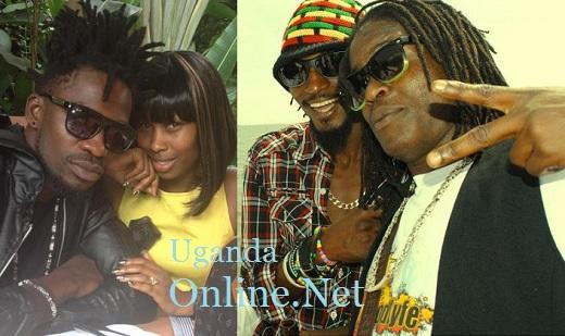 Bobi Wine, Barbie, Moze Radio and Weasel